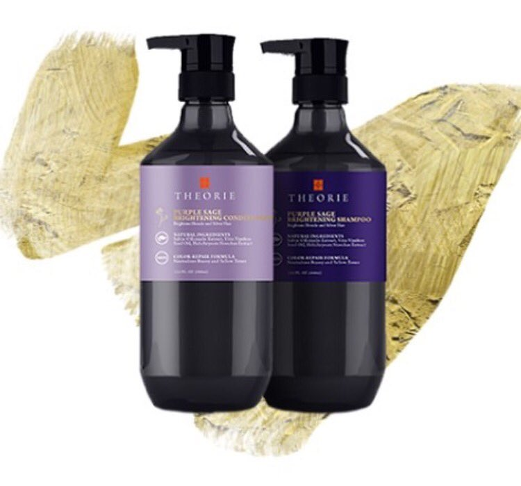 RETWEET TO WIN: Theorie Purple Sage Shamp+Condish!