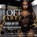 FREE FOOD black people 😩   #BUCKHEADLOFTPARTY ❎  Its here ❗️ wildest loft party ever Saturday #DeejaysMayhem https://t.co/r7O51ANhpx 10