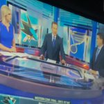 All the @NBCSports anchors wearing blue. Coincidence? I think not. #LGB #BleedBlue #StanleyCupPlayoffs https://t.co/8nXNnpqoqh