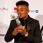 """18 year old #Jamaican football star Leon Bailey awarded """"Young Player of the 2015-2016 Season"""" in Belgium. CONGRATS! https://t.co/5f0PdFWqcJ"""