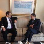 Meeting of #Cyprus President @AnastasiadesCY and PM of Finland @juhasipila, #CyprusProblem, #EU-#Turkey https://t.co/K3HXsKWhB5