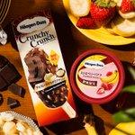 ハーゲンダッツの新作「ストロベリーバナナ」&クランチークランチ「チョコレートマカデミアナッツ」本日発売 - https://t.co/wrtUD9cD9O https://t.co/43H2OlqimJ