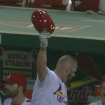 When you deliver a game-tying home run at Busch against the Cubs, you get a curtain call. #STLCards #CHIvsSTL https://t.co/kBa7oUWm31