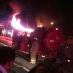 Incendio en repuestos Kamul en Paso Canoas, Frontera, Chiriquí, noticia en desarrollo... https://t.co/dsuCupTt09