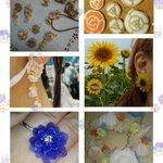 @Lupopo_cafe 企画展ありがとうございます❀ 小さなお花をテーマにプリザで作ったPetitバラ・自宅栽培の押し花・草木染めの布花・ビーズ刺繍・プラバンなどでお花のアクセや小物を製作しています。 28,29日リボンマルシェ❀ https://t.co/WUzEcQIW3R