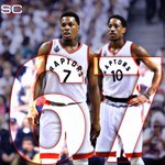 67 Pts are the most Kyle Lowry & DeMar DeRozan have combined for in a game as teammates. https://t.co/AfDuRUXPLq