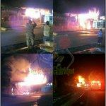 Ya casi 2 horas del Incendio declarado en Respuestos Kabul paso canoas, bomberos ???? ticos y panameños trabajan https://t.co/E3TNZYjhMd
