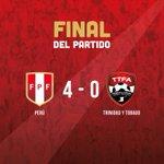 ¡Final del partido! ¡Arriba Perú! #AlentemosTodos #ArribaPerú https://t.co/cp1wQI0pKY