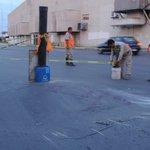 Se hunde pavimento en bulevar Constitución y Leona Vicario de la colonia Moderna de #Torreón. Tome sus precauciones. https://t.co/PcIvBHKRPu