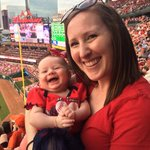 Had fun at Abbys first @Cardinals game! #CardinalsNation https://t.co/3Qe6fgmeOs