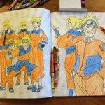 We're so good at colorin Narutoes dattebayo https://t.co/XpJrMIMeGF