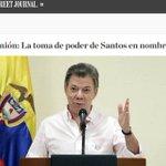 La fuerte columna contra el presidente Santos publicada en The Wall Street Journal. https://t.co/GcS0v8lVq1 https://t.co/1QfsdC8C9h