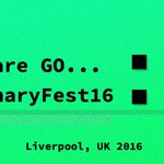 And so... Day 1 of #BinaryFest16 in #Liverpool begins. Have a great day everyone. #Digital #Creative #Makers #Tech https://t.co/HHF5lDXeSS