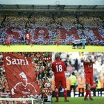 7 years ago today a tearful Sami Hyypia said goodbye to The Kop after 10 years at #LFC as the Reds beat Spurs 3-1. https://t.co/3ZmRjO4t5J