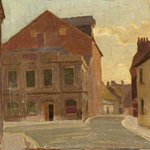 Two 1920s Henry Lambs showing the buildings that are now Poole Museum. Colls: left @PooleMuseum right @Russell_Cotes https://t.co/JH2VecZLA5