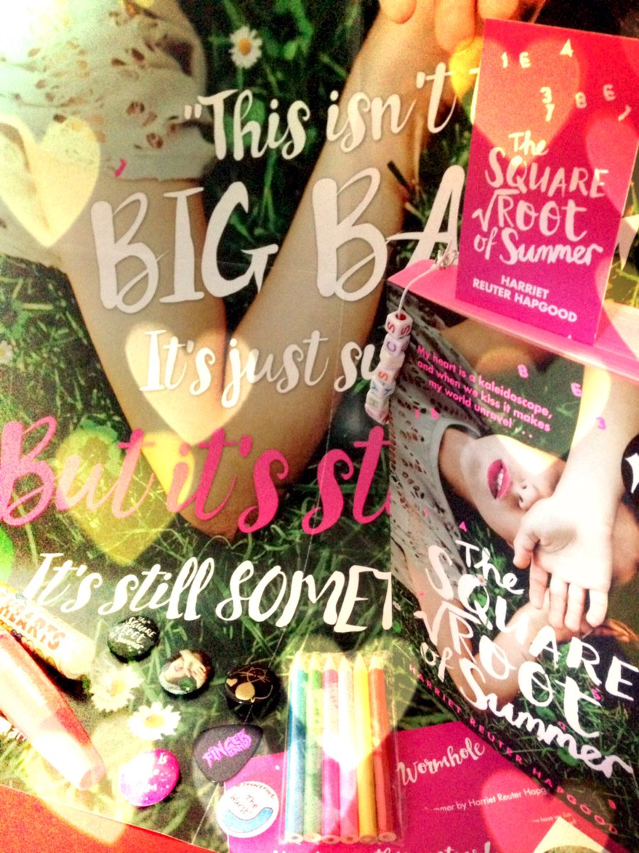 Think pink! RT & follow to win a signed Waterstones pink edition & swag
