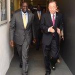 Held a meeting with UN Secretary General Ban Ki-moon in Istanbul, Turkey. https://t.co/GWlrLrk2Gt