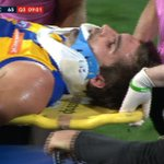 #Breaking Tom Jonas out for six weeks found guilty of intentionally striking @WestCoastEagles @andrewgaff03. https://t.co/yxz0yrOu5Z