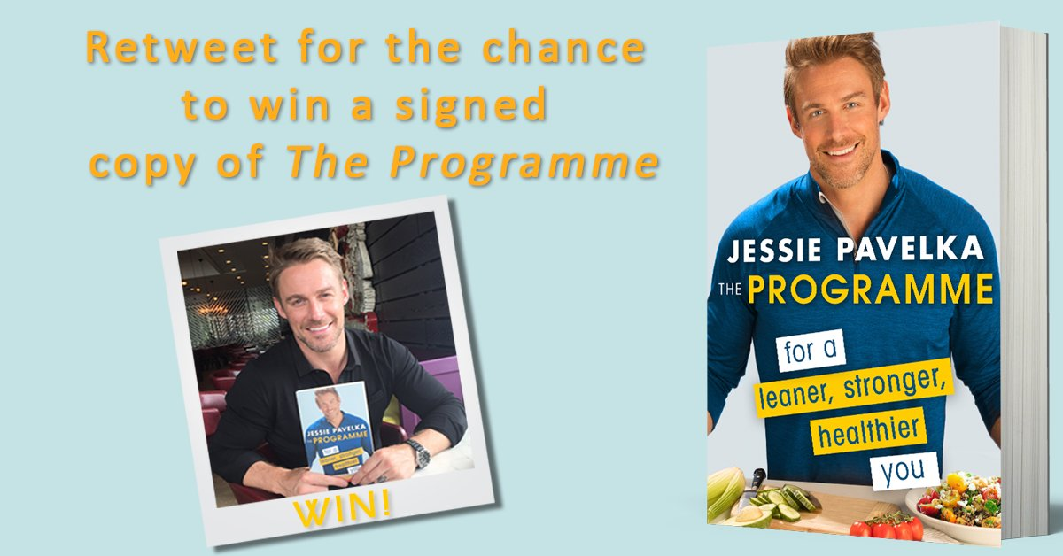 1 of 3 signed copies of The Programme by @JessiePavelka up for grabs. RT by midnight to enter. UK only. https://t.co/iMixivjtzw