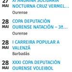 Axenda Deportiva Semanal en Ourense  Consulta a nosa web https://t.co/LyxvP7pN8G https://t.co/BsXwKCyGba