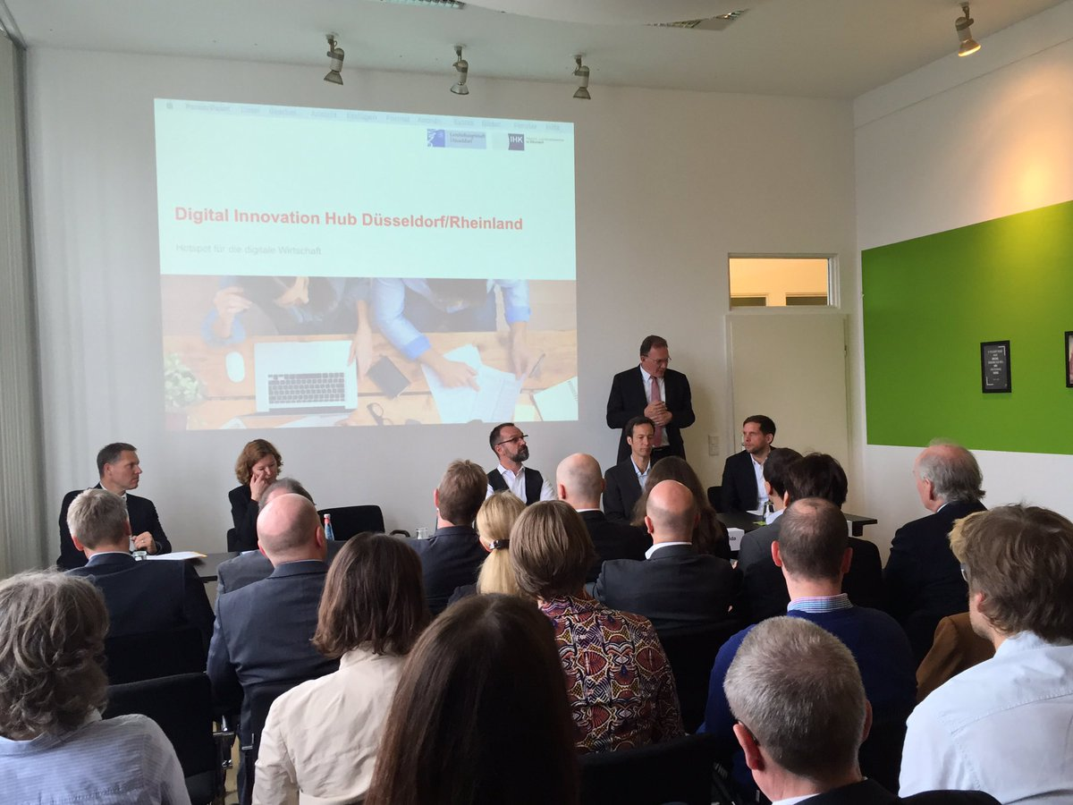 HUB Düsseldorf / Rheinland formiert sich. Meeting am @STARTPLATZ Düsseldorf https://t.co/uDswBIlNrM