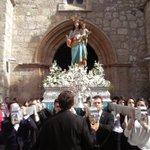 #MariaAuxiliadora y #DonBosco ya pasean por las calles de Ciudad Real @SalesianosSSM https://t.co/CdxhLWuol8