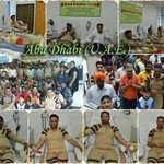 #MSG2in250Days Celebration with humanitarian deeds by volunteers! Blood donation in Abu Dhabi (U.A.E). Blessings! https://t.co/by23TS5ko3