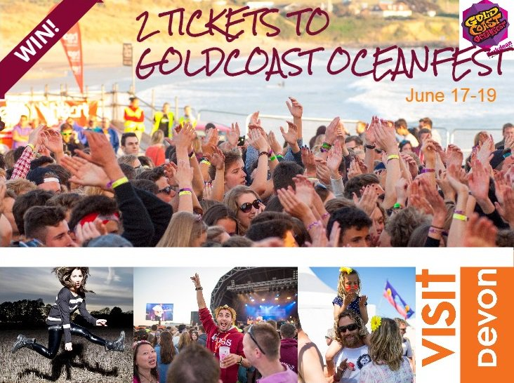 Last chance to WIN tickets @Oceanfest and accomm @Parkdean. Follow @VisitDevon & RT to enter https://t.co/b10l2Sy303 https://t.co/BFHWsLPAby