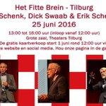 Bewegen is belangrijk voor de hersenen. Daarover meer tijdens Het Fitte Brein op 25 juni in Tilburg! https://t.co/hIcGh0q6vh