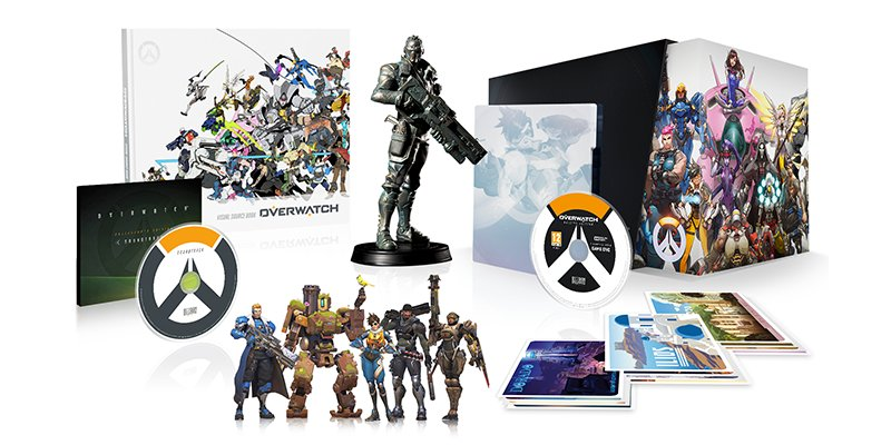 RETWEET for a chance to win an Overwatch Collector's Edition! https://t.co/pzJORMriKY