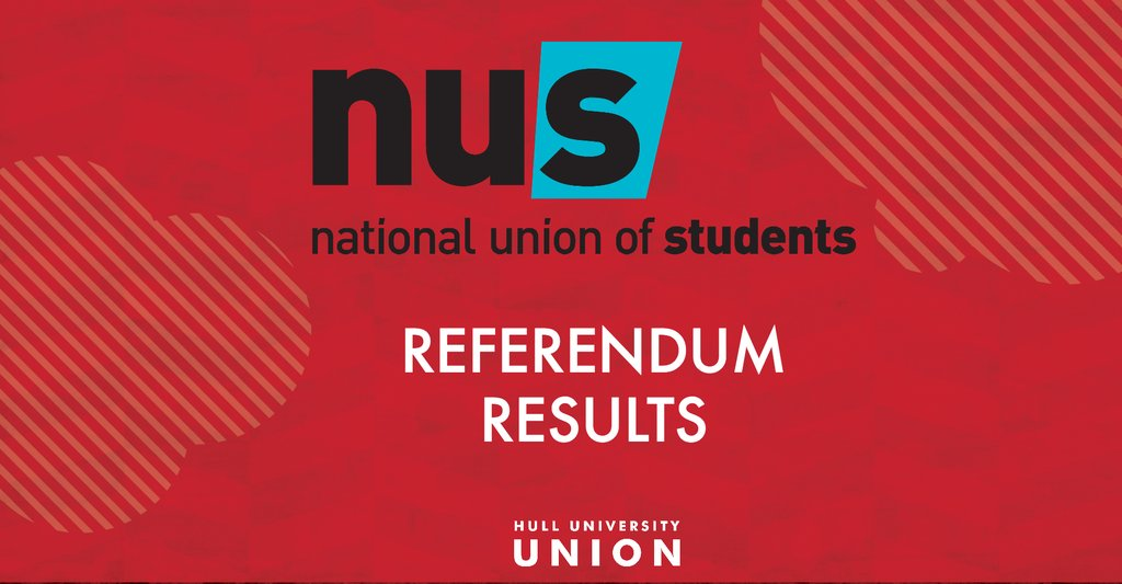 BREAKING: Hull students vote to disaffiliate from @nusuk #huuref  https://t.co/3b9pAXN7hS https://t.co/TxOx18OKBo
