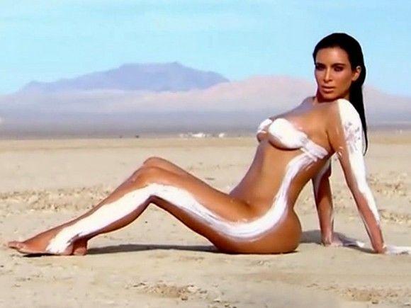 Aboriginal nude woman