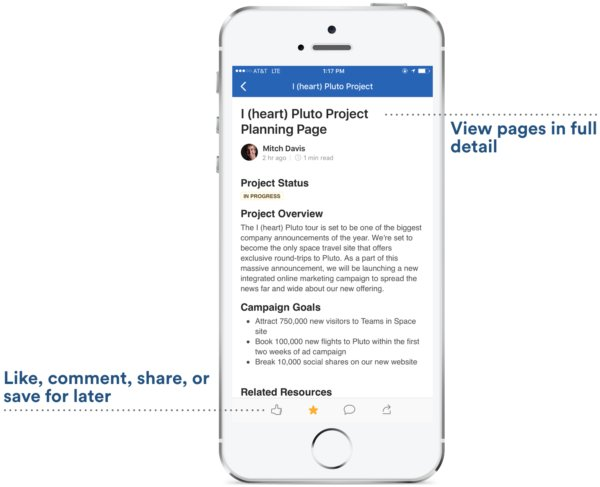 Collaboration on the go is now easier than ever. Introducing Confluence mobile app for iOS! https://t.co/EyAbuZSV9s https://t.co/epuxddPUgj