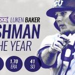 The @Big12Conference Freshman of the Year is Luken Baker! Congrats, Luken!   #GoFrogs https://t.co/VMuaYNyIjo