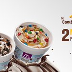 Solo hoy #McTes de Combinación Perfecta entre Alpina y McDonalds:2 McFlurry™ x $6.900. https://t.co/PfO4mR50RG https://t.co/kk4IEWMLHL