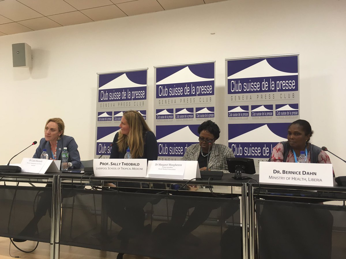 Women leaders develop as young women. We must encourage them to seek higher roles @laurahoemeke #WomeninGH #WHA69 https://t.co/nNBooP7wev