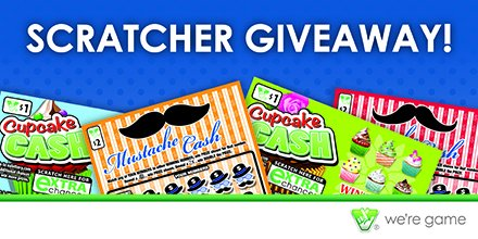 Like free stuff?  How about 25 FREE Scratchers?  Follow us & RT by midnight ET for your chance to win!  #VALWinWed https://t.co/BWkXG3spEi