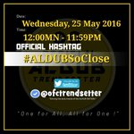 """Do not lose thy Faith, the best is yet to come.""   🐼 OHT #ALDUBSoClose https://t.co/izgu6GCt8p"