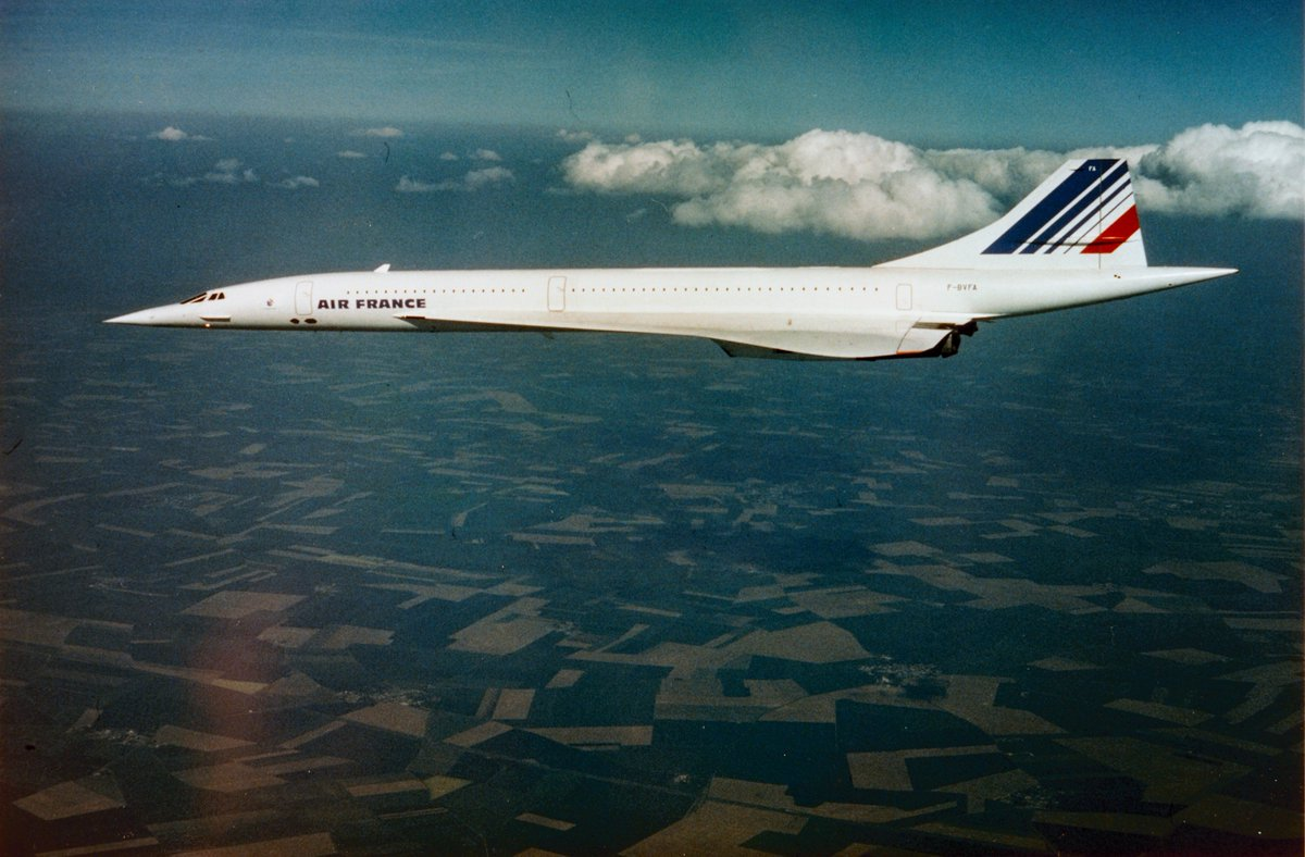 RT @archivesfdn: Today in 1976, Concorde service from London and Paris to @Dulles_Airport began! @airfrance https:/…