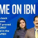 आखिर IBN7 ने अपने आपको झूठा साबित कर ही दिया। लोगो को गुमराह करने वाला चैनल एक्सपोज़ हो चूका है। #IBN7_Media420 https://t.co/5FSVDvOHJd
