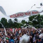 #BGDnijeMali slogan za ovu sliku smo pozajmili od @LokalniFront #Kraljevo :) #protest #fantomke #savamala #beograd https://t.co/1v4UpE1yZJ
