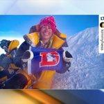 Colorado woman takes Denver Broncos flag to summit of Mount Everest - https://t.co/IlzfIeaLps https://t.co/pSZSRrIUml