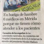 HECHO EN SUCIALISMO: Médicos a huelga por  no aguantar más q sus pacientes se les mueran por falta de medicinask https://t.co/8LGuLuljqE