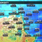High humidity=strong storms this time of year. #9WX #9news #9newsmornings #cowx https://t.co/4XHZCkobbo