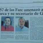 Esto lo venimos advirtiendo hace rato. Alcalde y Secr. de Gbno de Fonseca-La Gjra presuntamente amenazados por Farc https://t.co/mMdHeoWdUj