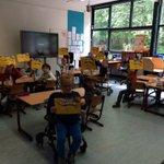 Leerlingen krijgen clinic van @MijnVitesse #MaatschappelijkBetrokken #VitesseBetrokken https://t.co/wA7tMbdEpr