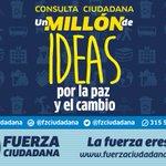 Consulta por un millón de ideas para crear una agenda regional  #FuerzaCiudadana https://t.co/9h5PBVUbtR