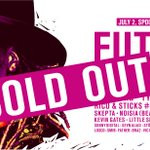 WOO HAH! 2016 is all sold-out! This year we expect 10.000 hiphop lovers in the Spoorzone of Tilburg. https://t.co/ZZck2hrlq9
