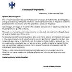 Partiendo para #Uruguay, me dirijo a ustedes por esta vía: https://t.co/goQOSaIcNJ