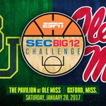 BREAKING: Baylor will play at Ole Miss on Jan. 28 in this years SEC/Big 12 Challenge. #SicEm https://t.co/83XaWleuOD
